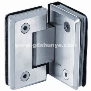 Brass Shower Door Hinge for Glass Door (SHB-0355) pictures & photos