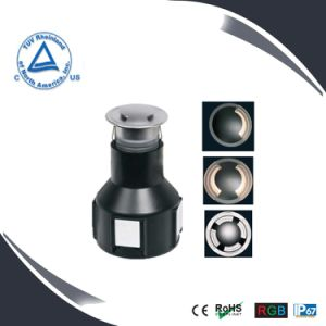 2W Stainless Steel LED Underground Deck Lighting pictures & photos
