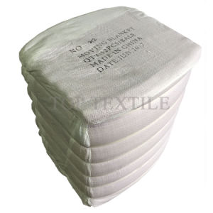 "72""*80"" Woven Fabric Moving Blanket Moving Pad With Non-Woven And Woven Fabric pictures & photos"