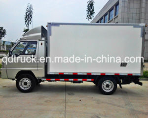 Transport fish, vegetable, milk, icecream 1ton Refrigerator Van Truck pictures & photos