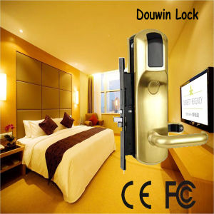 Zinc Alloy Key Card Door Lock with Sdk pictures & photos