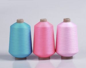 70d/36f/2 Polyester Yarn Textured and Spooling on Cones pictures & photos