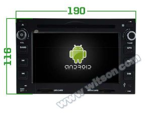 Witson Eight Core Android 6.0 Car DVD for Volkswagen Golf/B5 pictures & photos