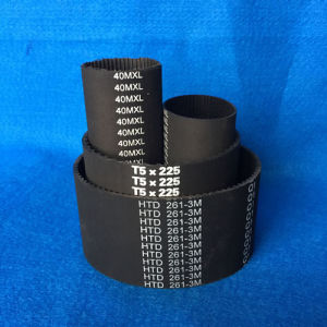Cixi Huixin Synchronous Belt Rubber Belt pictures & photos