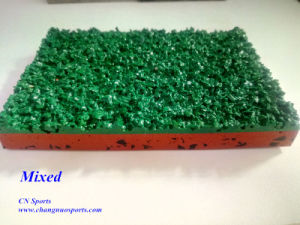 Iaaf Athletic Track Made of PU Binder and Rubber Granules pictures & photos