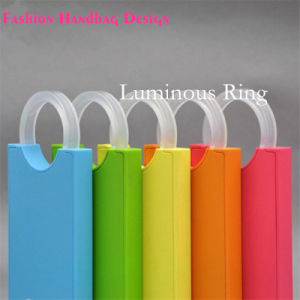 3000mAh Handbag Mobile Power Bank with Luminous Ring Mobile Phone Accessories pictures & photos