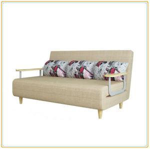 Multi-Functional Sectional Cool Wooden Sofa Bed (197*80CM) pictures & photos