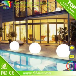 Solar Powered 20, 30, 40, 50, 60cm Diameter LED Glow Ball IP68 for Swimming Pool or Garden