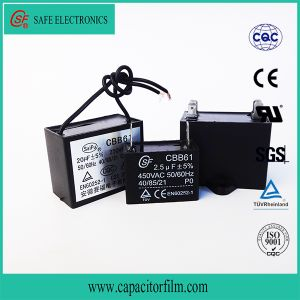 Cbb61 Metallized Polypropylene Film AC Capacitor for Fan pictures & photos
