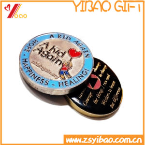 Customed Glod/Silver/Bronze Souvenir Metal Challenge Coin for promotion Gift pictures & photos
