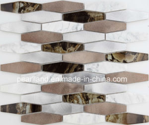 Easy Installation Interior Wall Tiles Aluminum Composit Glass Mosaic pictures & photos