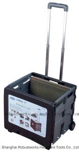 Portable Folding File Cart (FC405K) pictures & photos