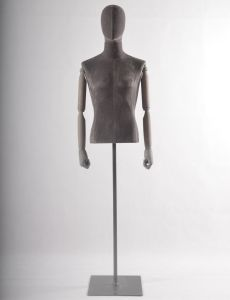 Hot Sale Male Torso Mannequins Forms with Leather Covered pictures & photos