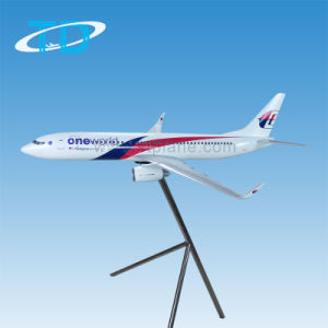 Large Scale Resin Stand Malaysia Plane Model B737-800 pictures & photos