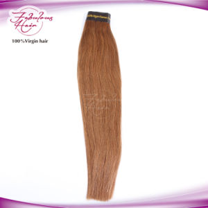 Chemical Free 8# Human Hair Virgin Malaysian Hair Weave pictures & photos