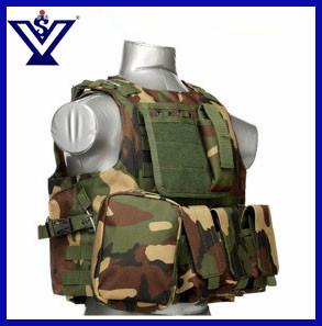 Camouflage Tactical Army Combat Safety Bulletproof Vest (SYSG-201745) pictures & photos