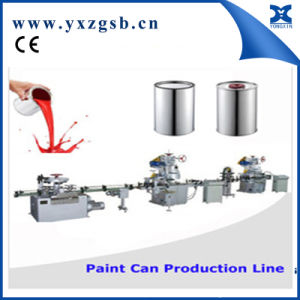 Automatic 1-5L Small Round Tin Can Making Machine pictures & photos
