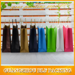 Nice Fashion White Kraft Paper Bag pictures & photos