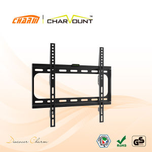Low Profile 400X400mm Fit for 26-55 Inch Screen Universal Tilting LCD Wall Mount Bracket (CT-PLB-E3002B) pictures & photos