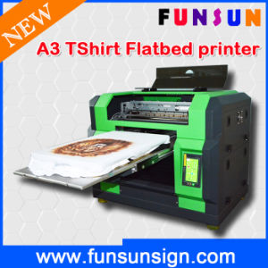 Multifunctional A3 T-Shirt Printer 8-Color Based pictures & photos