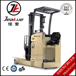 Hot -Selling Cheap 1.5t-2t Seated Reach Forward Electric Forklift pictures & photos