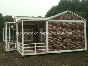 Hot Sales Portable Simple Vacation Mobile Prefabricated/Prefab House for Large Quantity pictures & photos