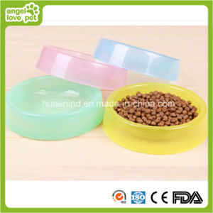 Candy Color Pet Bowl Dog Feeding Bowl pictures & photos