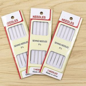 Custom Hand Sewing Needles with Blister Card pictures & photos