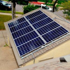 Home Use Durable Solar Panel System for Air Condition pictures & photos