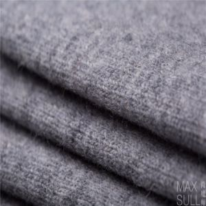 Mixed Wool Fabric for Winter Coat in Gray
