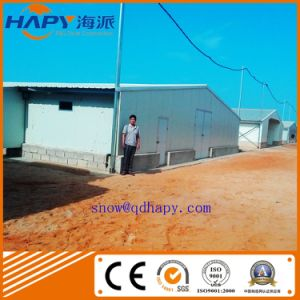Prefabricated Poultry House with Automatic environmental Control Equipment pictures & photos