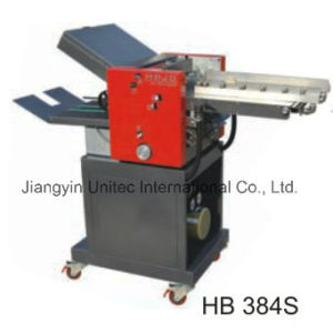 High Speed Automatic Paper Folding Machine Hb-384s pictures & photos