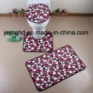 Anti Slip PV Fleece Memory Foam Bath Rug Flooring Mat Set Wholesale pictures & photos