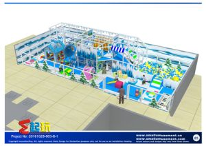 Innovation Play Snow Themed Indoor Playground