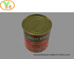 Canned Tomato Paste Wholesale Manufacturer OEM ISO Halal Food pictures & photos