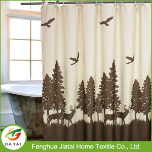 Custom Tree Pattern Oversized Shower Curtains Extra Long