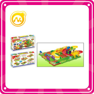 Child Fairground Toy DIY Electric Train Rail