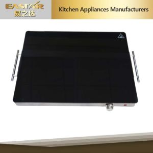 Tempered Glass Stainless Steel High Quality Food Warming Plate for Sabbath pictures & photos