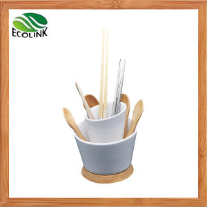 Bamboo Ceramic Utensil Holder Bamboo Chopstick Holder pictures & photos