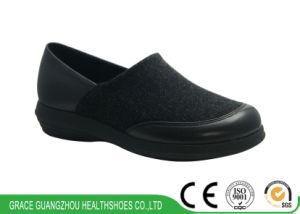 Spandex Comfortable Diabetic Shoes Unisex Health Shoes pictures & photos