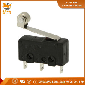 Lema Kw12-2 5A Roller Lever Mini Micro Switch pictures & photos