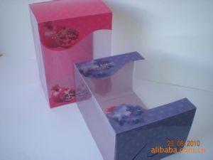 Packing Folding Transparent Plastic PVC Box (HG-PB011) pictures & photos