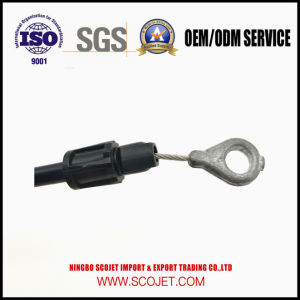 Scojet OEM High Quality Control Cable with Die Casting Brake pictures & photos