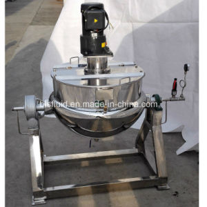 Tilting Double Jacket Mixer Steam Jacketed Kettle Price pictures & photos