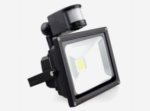 20W Ce RoHS IP65 LED Floodlight with Sensor pictures & photos
