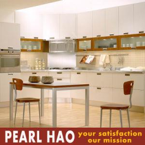 Australia Style White Melamine Wood Kitchen Cabinet Furniture pictures & photos