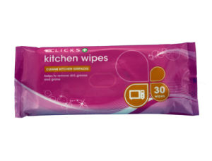 Disposable Kitchen Wipes, Household Nonwoven Wipes, Daily Cleaning Wipes pictures & photos