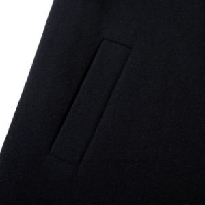 High Quality Black Mens Winter Duffle Coats pictures & photos