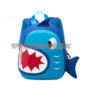 New Designed Cartoon Neoprene Kids Back Pack Student School Backpack Bag