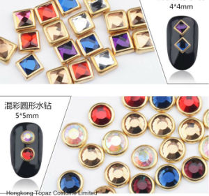 2mm 3mm 4mm 5mm Fashion Rhinestone Jewelry Rim Glass Crystal Hotfix Rim Rhinestone pictures & photos